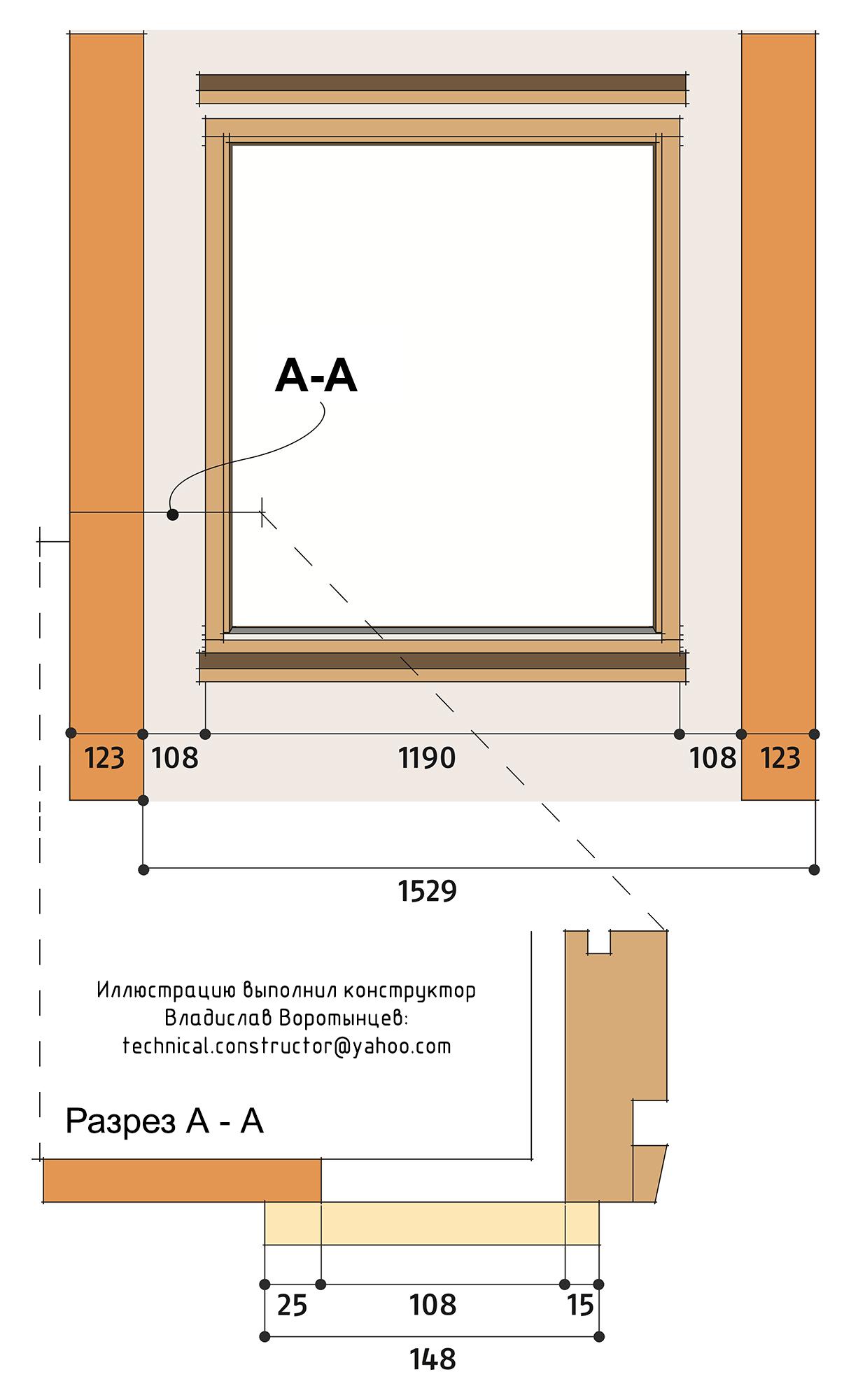 Пример распределения досок вертикальной наружной обшивки
