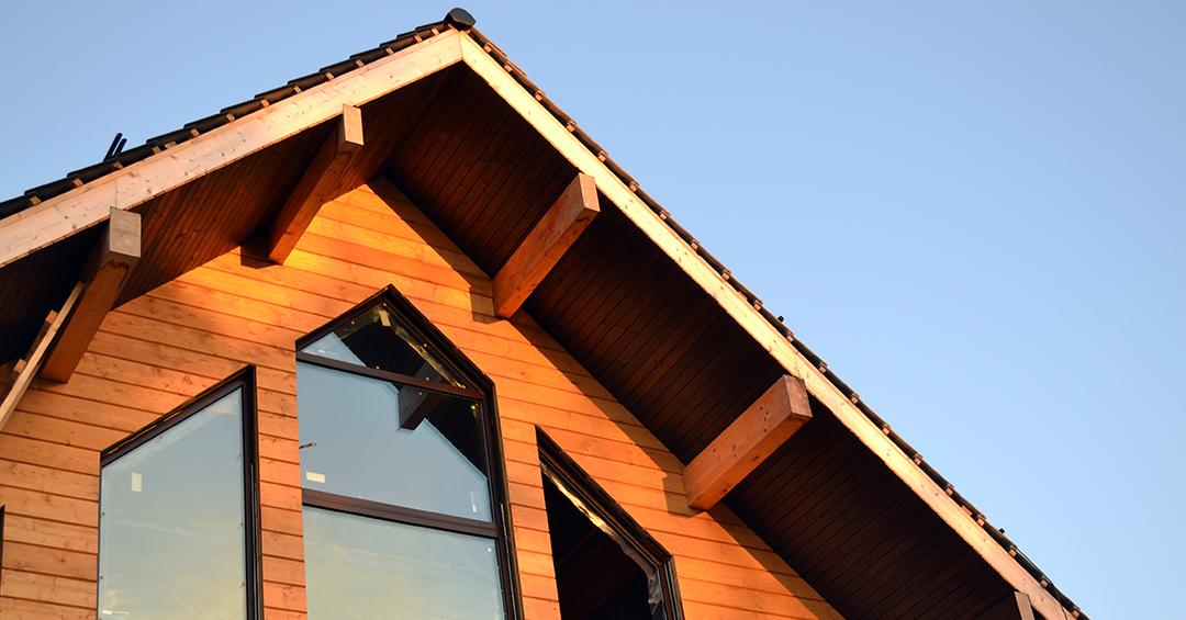 Дом из клееного бруса под ключ спб