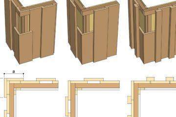 Как обшивают стены каркасных домов снаружи. Часть 2