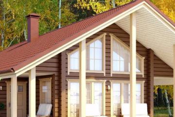 Строительство домов из клееного бруса под ключ в Санкт-Петербурге и Ленинградской области